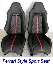ferrari style seat 225