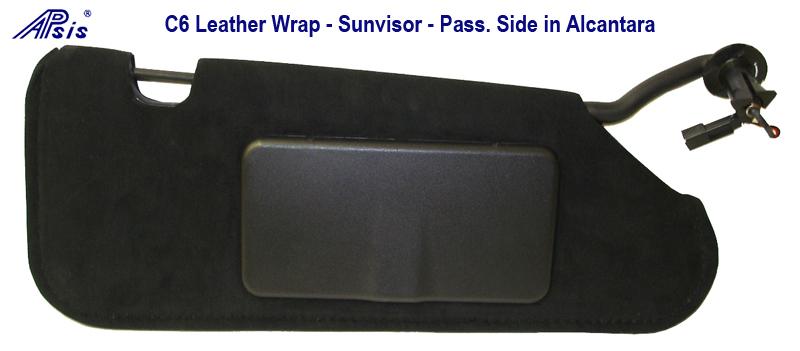 sunvisor pass side - 800 in Alcantara