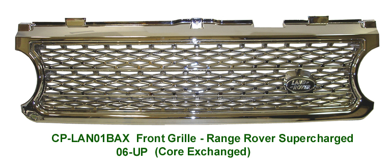 06 R.R. Supercharged-Front Grille-chrome plated - 768p 72P