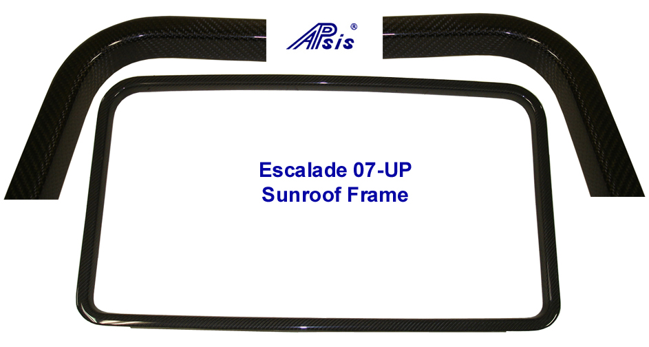 07 Escalade Black CF-Sunroof Frame- 800
