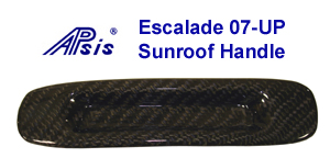 07 Escalade Black CF-Sunroof Handle-300