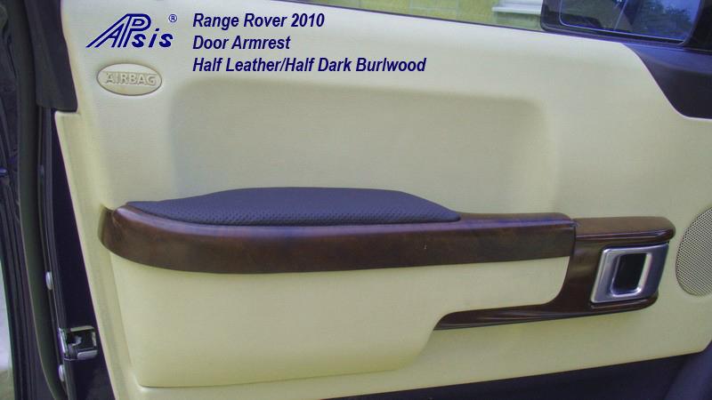 2010 Range Rover-front door armrest-burlwood-1