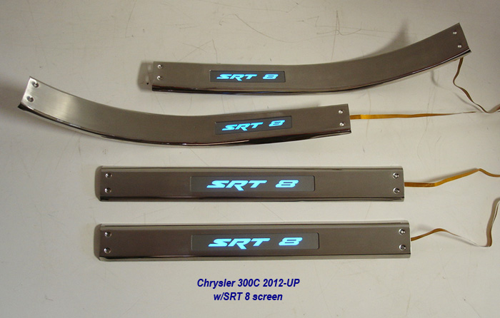 300C Door Sill 12-UP w-SRT8 logo-2