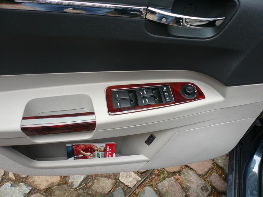 300C Lamination Burlwood DS door handle - 850