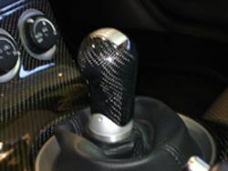 350Z Black CF Shift Knob only - 250