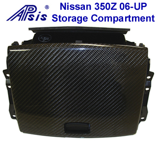 350Z Black CF Storage Compartment 06-UP - 320