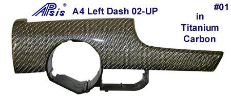 A4 Titanium CF-Left Dash-450