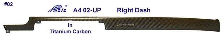 A4 Titanium CF-Right Dash 768