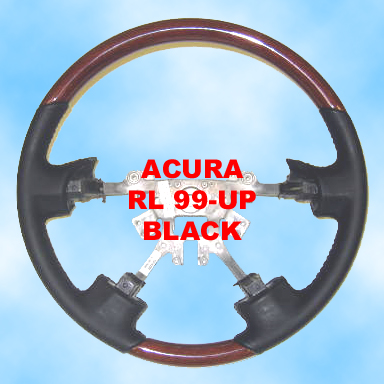Acura RL 99-UP Black