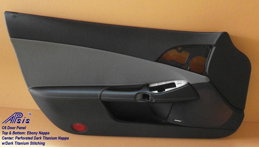 Apsis door panel C6 dark titan perf-1-driver