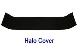 B-Pillar Halo Cover in Alcantara 250
