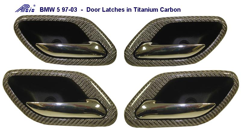 BMW 5 97-03 Door Latches