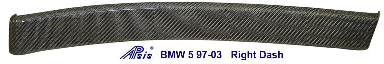 BMW 5 97-03 Right Dash