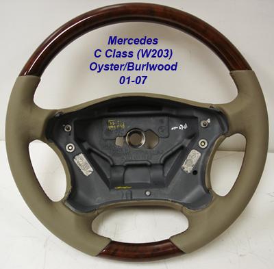 C Class (W203) 4 spoke w-oyster-1-400