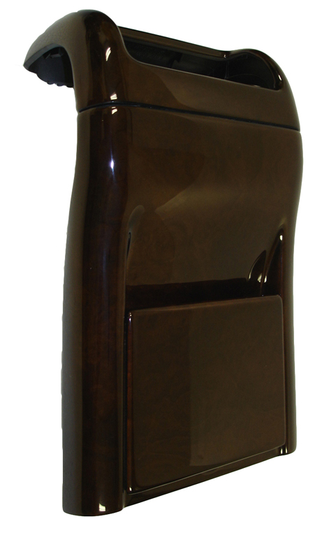 C Class (W203) Lamination Burlwood-Rear Cup Holder-Air Vent-side view-1-done