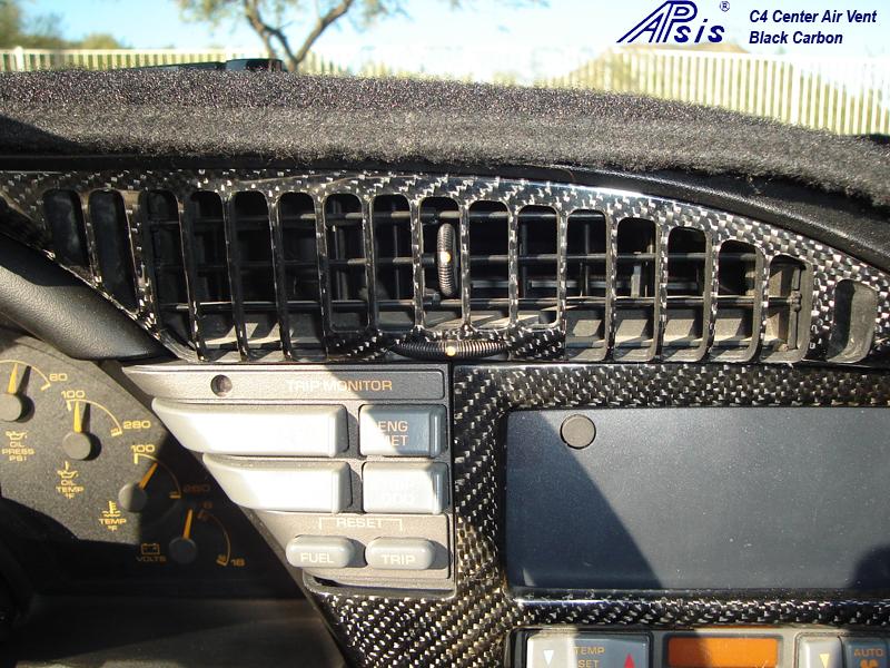 C4 Carbon Center Air Vent-installed-1