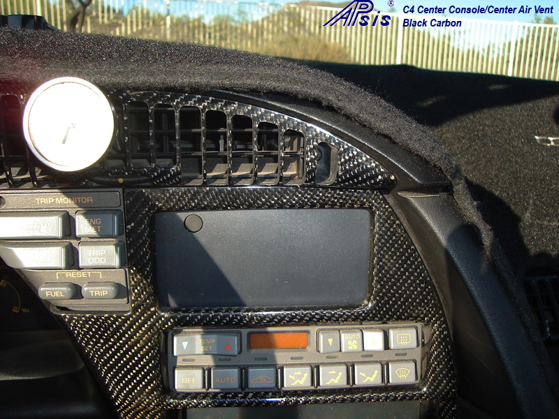 C4 Carbon Center Console-installed-1
