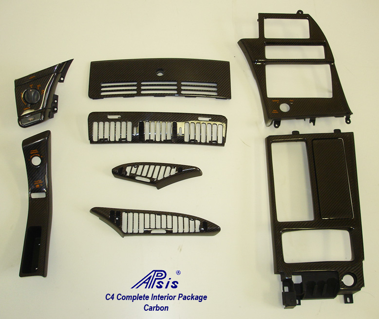 C4 Carbon Complete Interior Parts-1