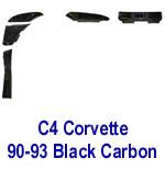C4 Corvette 90-93 -Black CF- 150