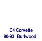 C4 Corvette 90-93 -Burlwood- 150