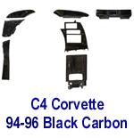 C4 Corvette-Black CF- 150