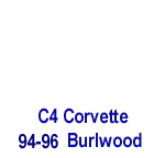 C4 Corvette-Burlwood- 150