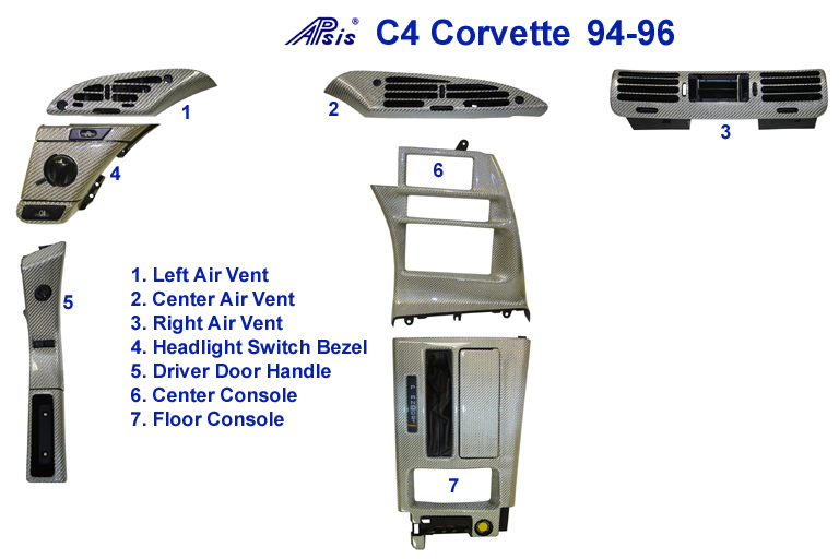 C4 Corvette-Silver CF-Diagram - 768