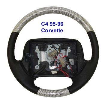 C4 Corvette-Silver CF-SW-350