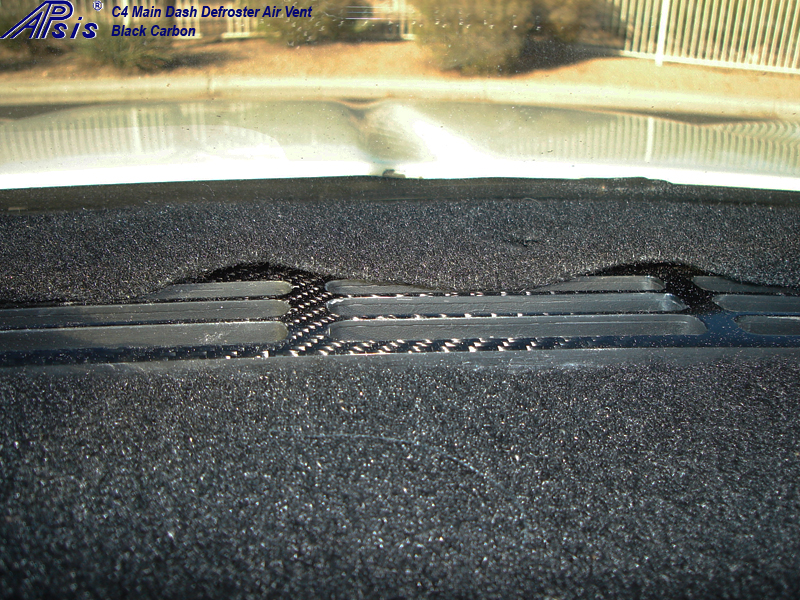 C4 Main Dash Defroster Air Vent-1