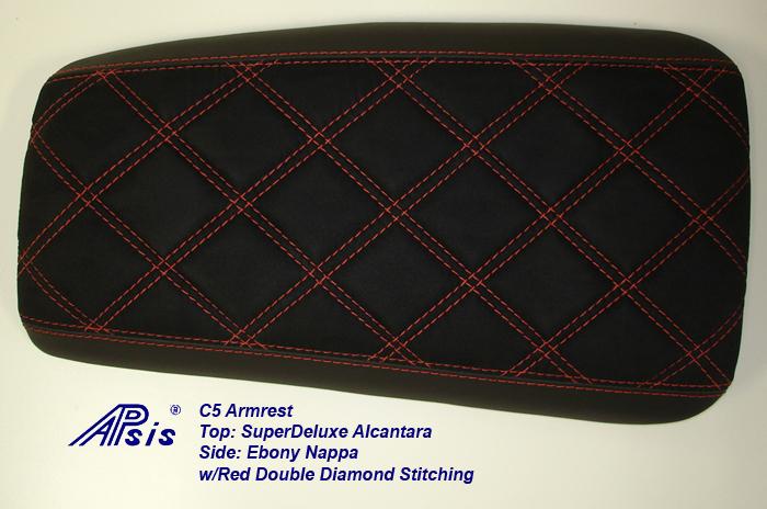 C5 Amrest-EB+SAL w-red double diamond stitching-1