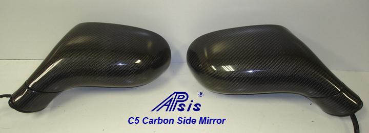 C5 CF Side Mirror-pair-back view-1
