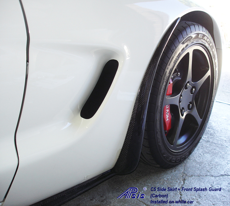 C5 CF Side Skirt+SG-show pass front sg-1