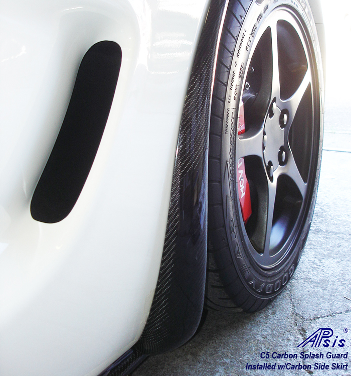 C5 CF Side Skirt+SG-show pass front sg-2