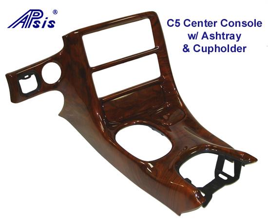 C5 Corvette Lamination Burl-Center Console - 550