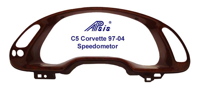 C5 Corvette Lamination Burl-Speedo - 756