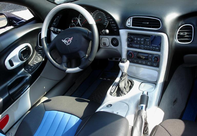 C5 Corvette Silver CF-install-whole view - 768