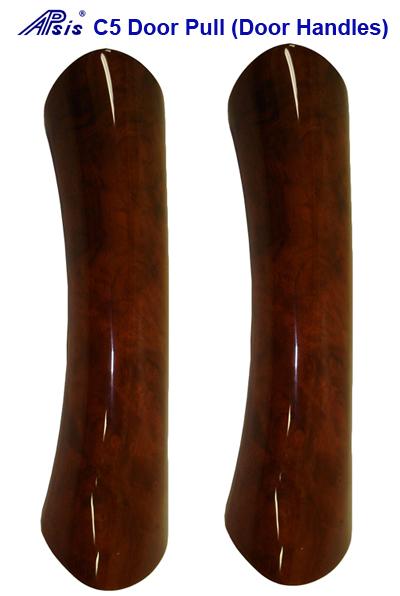 C5 Door Handle-burlwood-DF & PF-pair-400