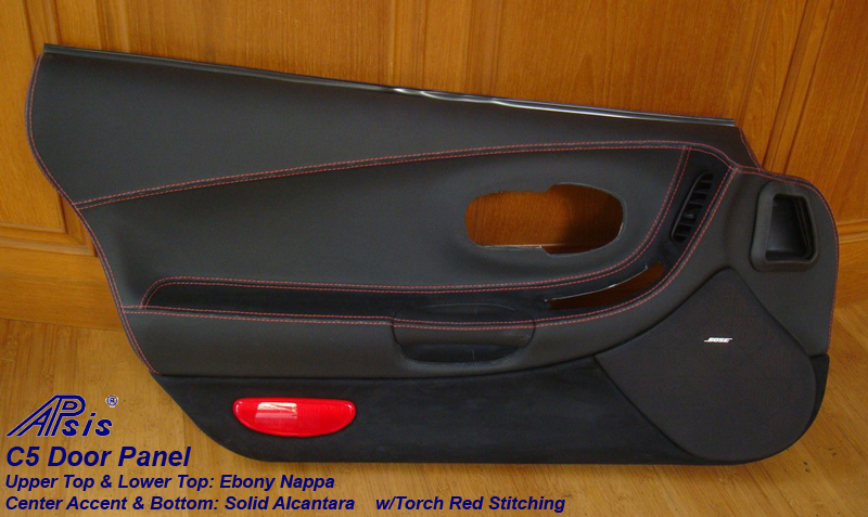 C5 Door Panel w-alcantara accent at center-df-1
