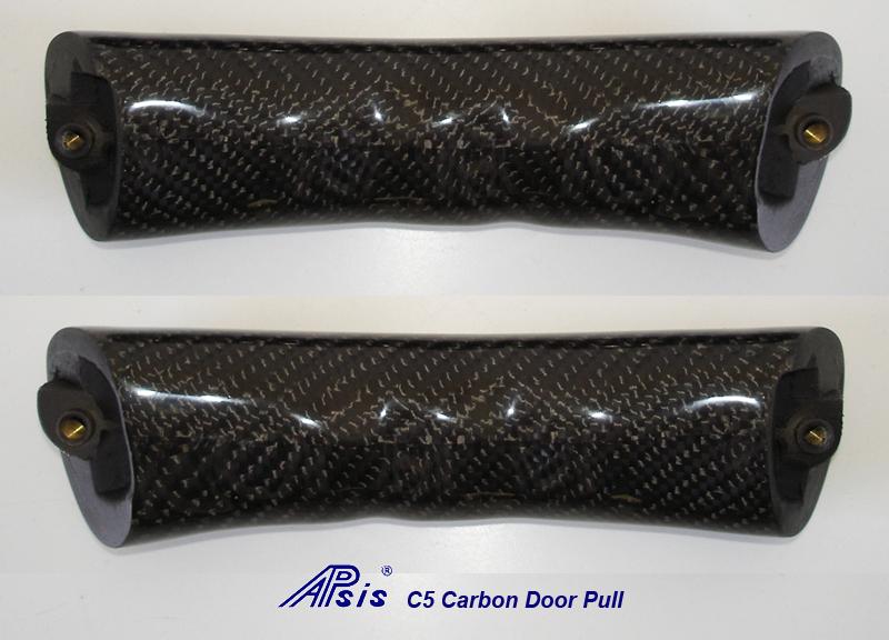 C5 Door Pull-carbon-1-pair