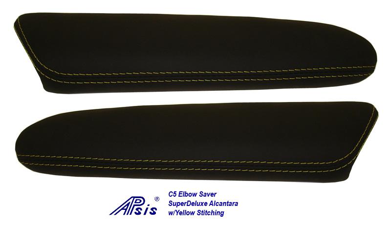 C5 Elbow Saver-SA w-yellow stitching-pair-2