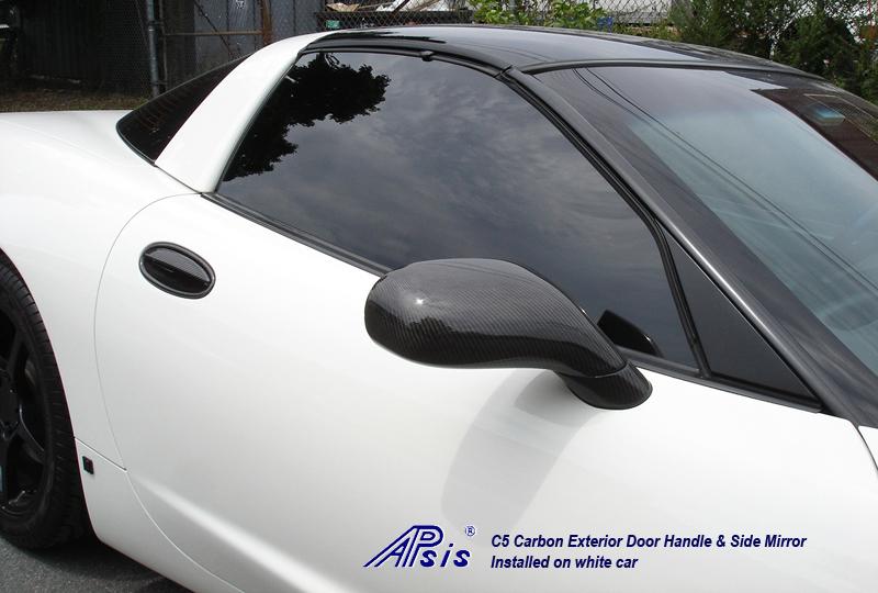 C5 Ext Door Handle+Side Mirror-pass-front view-1