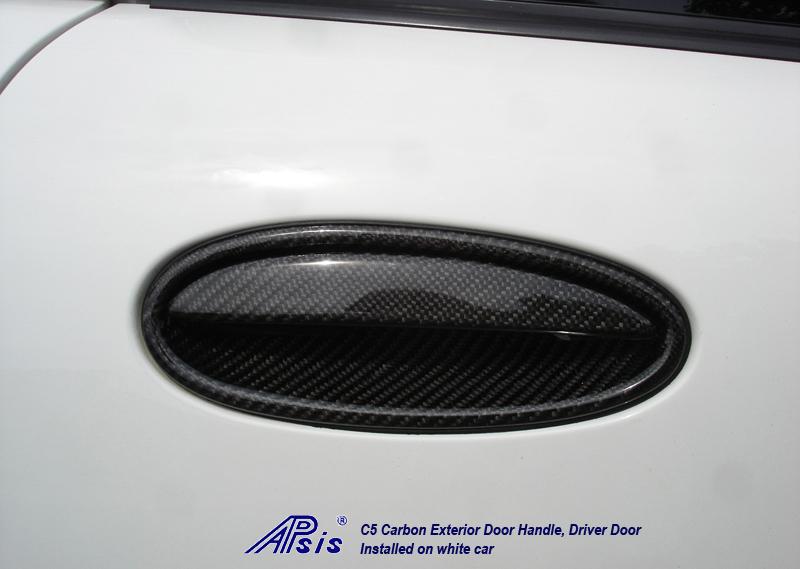 C5 Exterior Door Handle-CF-pass-installed-3 no crop