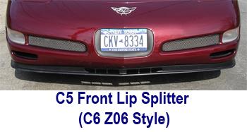 C5 Frfont Lip Splitter - C6 Z06 Style - 350