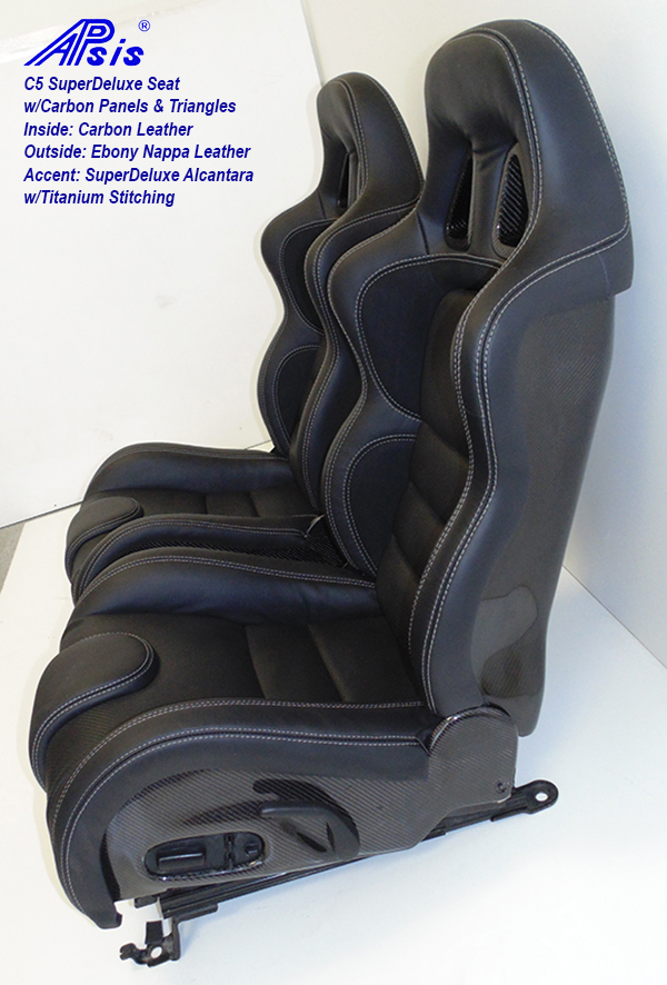 C5 SDX Seat w-carbon panel-EB+CL+SA w-Ti pair-4