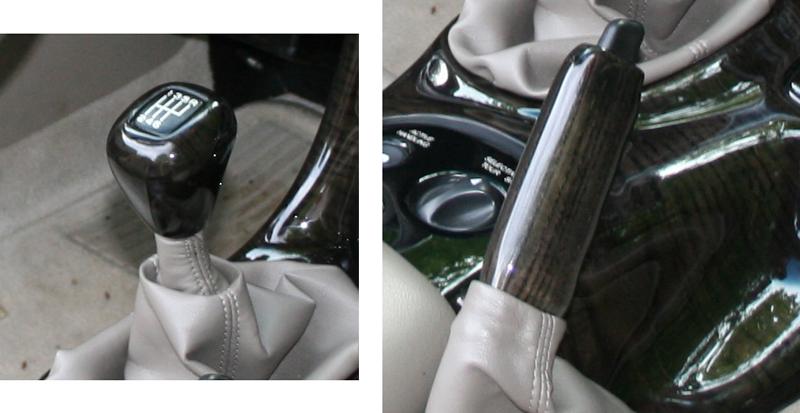 C5 SK & Hand Brake Blackwood on John Creo Car -