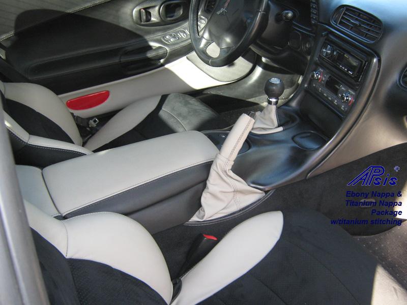 C5 Seat Cover-titanium bolster-alcantara center-full view-don-4