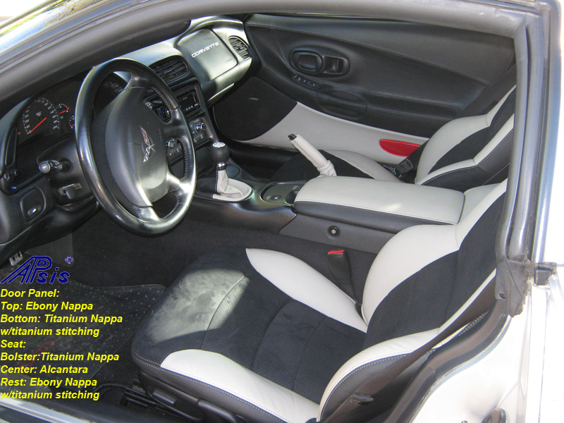 C5 Seat Cover-titanium bolster-alcantara center-full view-don-5