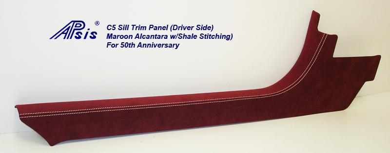 C5 Sill Plate-maroon alcan-full-1-driver