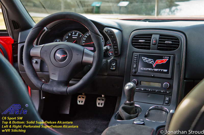 C5 Sport SW perf alcan+solid alcan w-vr stitching installed-4