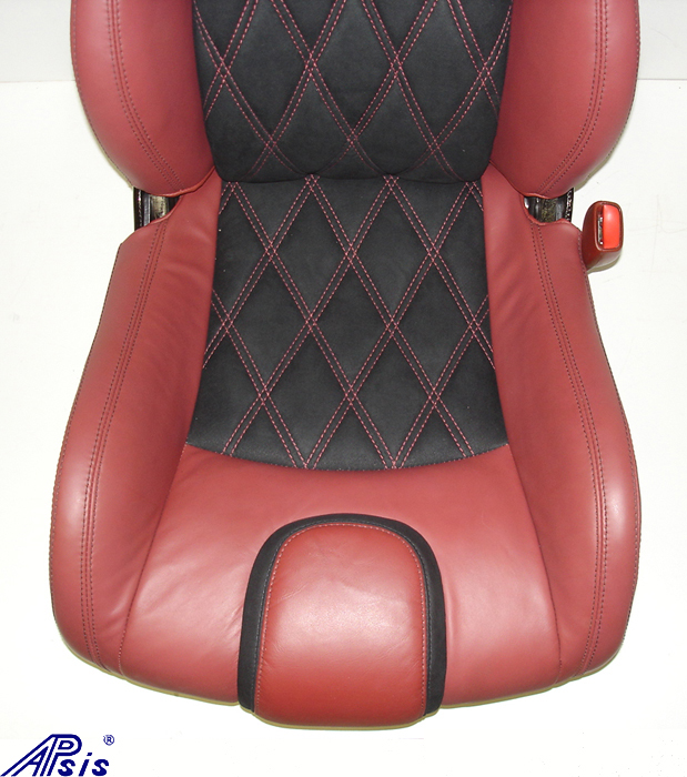 C5 SuperDeluxe Seat w-CF-cobalt red+alcantara-lower seat only-1